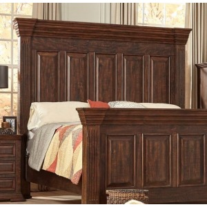 Queen Panel Headboard - Tobacco