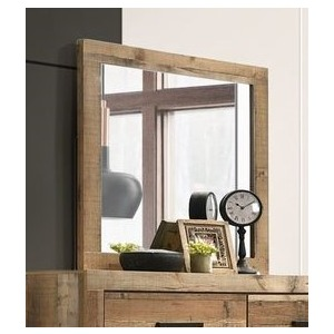 Mirror - Antique Natural