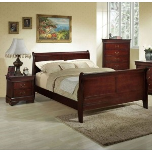 3 PC Bedroom Set - Cherry
