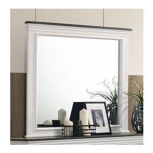 Mirror - White / Grey