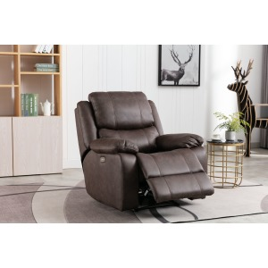 Power Recliner - Canyon Walnut