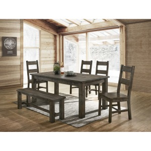 6 PC Dining Set - Grey