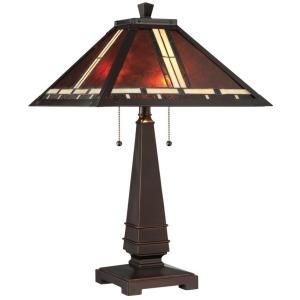 Crimson Table Lamp