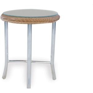 """Loom 20"""" Round End Table"""