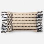 "Black White Pillow (13"" X 21"")"
