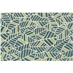 "TZ-05 BLUE / GREEN (3'6"" x 5'6"")"
