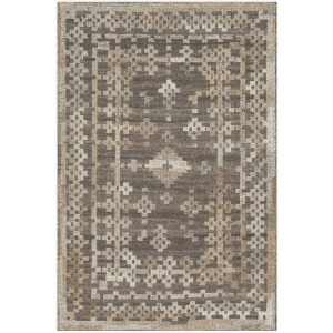 "Akina Charcoal Taupe Rug (5' x 7'6"")"