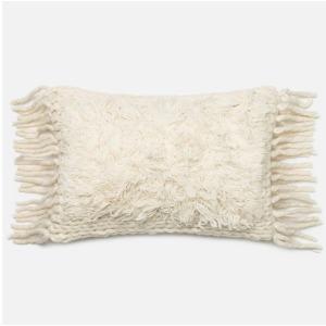 "P0326 Ivory Pillow (13"" X 21"")"