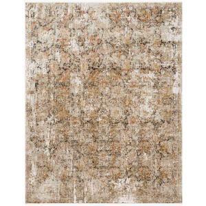 Theia Taupe Gold Rug (5' x 8')