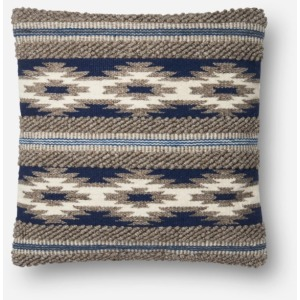 "Navy Multi Pillow (22"" X 22"")"