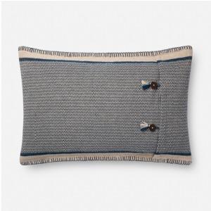 "Indigo Natural Pillow (16"" X 26"")"