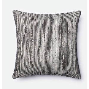 "P0242 BLACK / MULTI (22"" X 22\"" PILLOW)"
