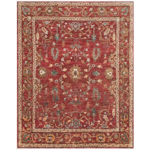 "Empress Red Rug (7'9"" x 9'9"")"