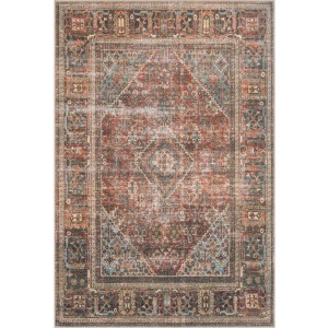 "Loren Brick Midnight Rug (2'3"" x 3'9"")"