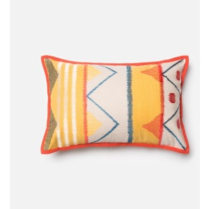 "P0163 YELLOW / MULTI (13"" X 21"" PILLOW)"