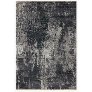 """Samra Charcoal Silver Rug (7'10"""" x 10')"""