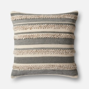 MH Grey Ivory Pillow