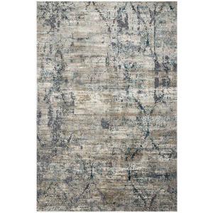 """Cascade Taupe Blue Rug (6'7"""" x 9'2"""")"""