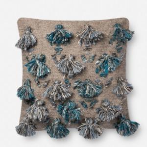 "Blue Multi Pillow (22"" X 22"")"