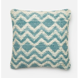 "Blue-Grey (22"" X 22"" PILLOW)"