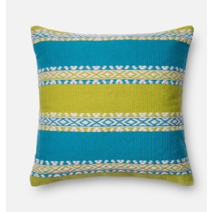 "P0216 GREEN / BLUE (22"" X 22\"" PILLOW)"