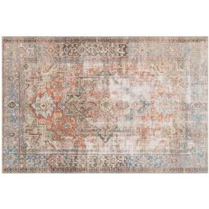 """Loren Terracotta / Sky Rug (8'4"""" x 11'6"""")"""