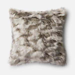 "Grey Multi Pillow (22"" X 22"")"