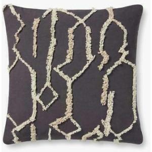 "Black Ivory 22"" x 22"" Pillow"