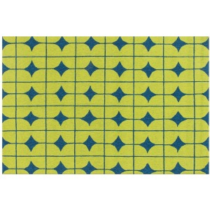 "VB-03 LIME / BLUE (5'0"" x 7'6"")"