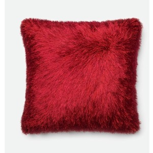 "Red Pillow (22"" X 22"")"