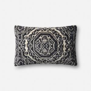 "Black White Multi Pillow (13"" X 21"")"