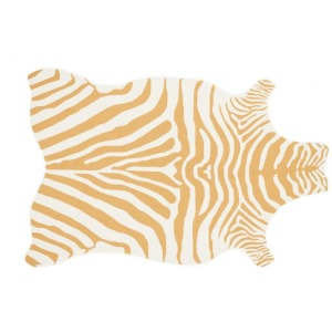 "ZD-01 GOLD / WHITE (3'6"" x 5'6"")"