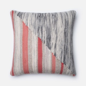 "Grey-Coral (22"" X 22"" PILLOW)"