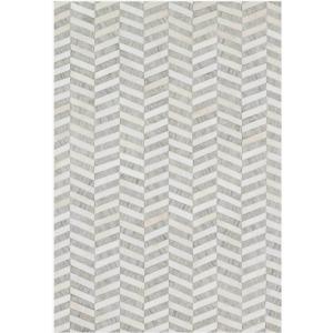 """Dorado Grey Ivory Rug (7'9"""" x 9'9"""")"""