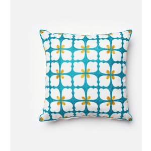 "P0062 BLUE / GREEN (18"" X 18"" PILLOW)"