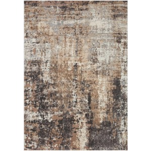 "Theory Taupe Grey Rug (5'3"" X 7'8"")"