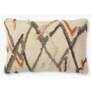 "Ivory Multi 13"" x 21"" Pillow"