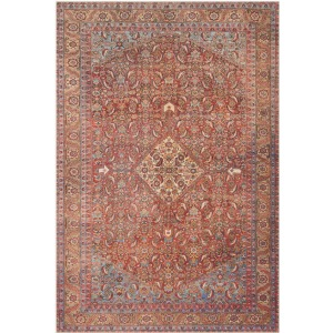 "Loren Red Multi Rug (2'3"" x 3'9"")"