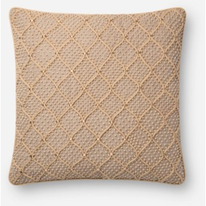 "Natural Gold Pillow (18"" X 18"")"
