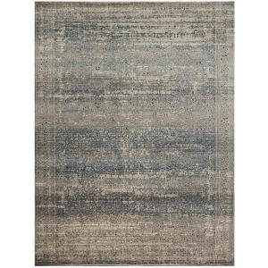 """Millennium Grey Blue Rug (5'3"""" x 7'6"""")"""