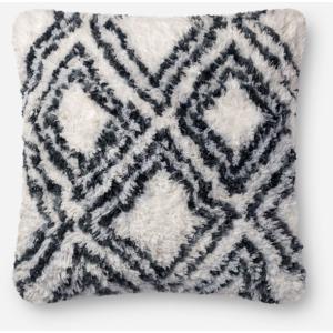 """Charcoal White Pillow (22"""" X 22"""" PILLOW)"""