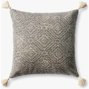 "Charcoal 22"" x 22"" Pillow"