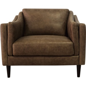 Ava Leather Chair - Bomber Tan
