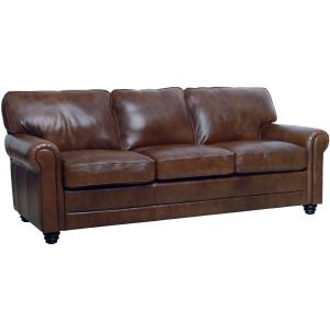 Andrew Leather Sofa - Havana