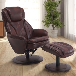 Norway Chair Whisky Breathable Air Leather Brown
