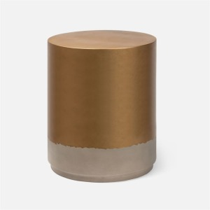 Ashmore Side Table - Gold