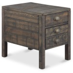 Vernon Rectangular End Table
