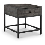 Parker Rectangular End Table