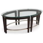 Carmen Oval Cocktail Table
