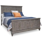 Lancaster Complete King Panel Bed